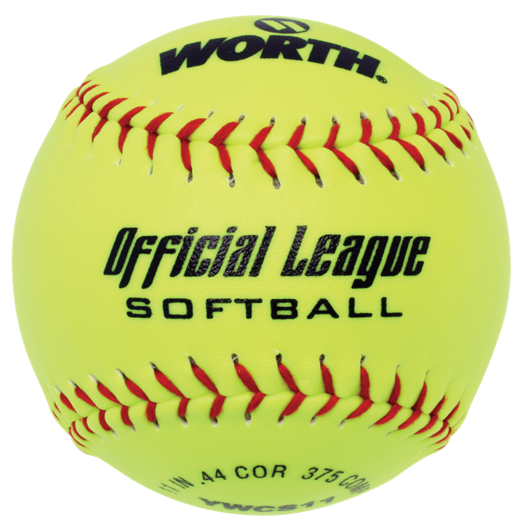 "WORTH YWCS11 11"" Official League Slowpitch Softball"